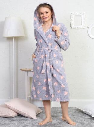 Gray - Morning Robe