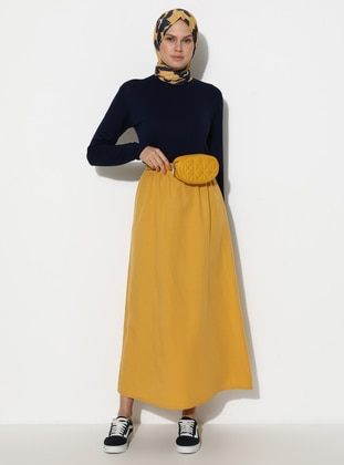 Mustard - Unlined -  - Skirt