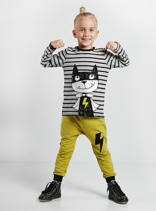 Multi - Boys` Suit - Denokids