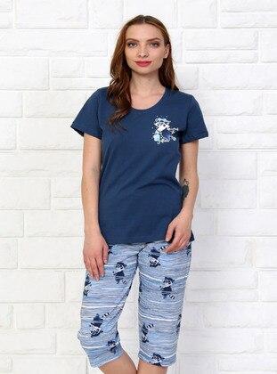 Indigo - Crew neck -  - Pyjama Set