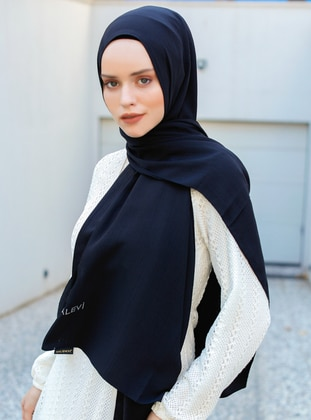 Black - Plain - Viscose - Shawl - Şal Evi