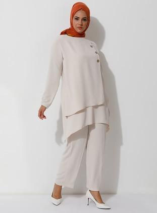 Stone - Unlined - Suit