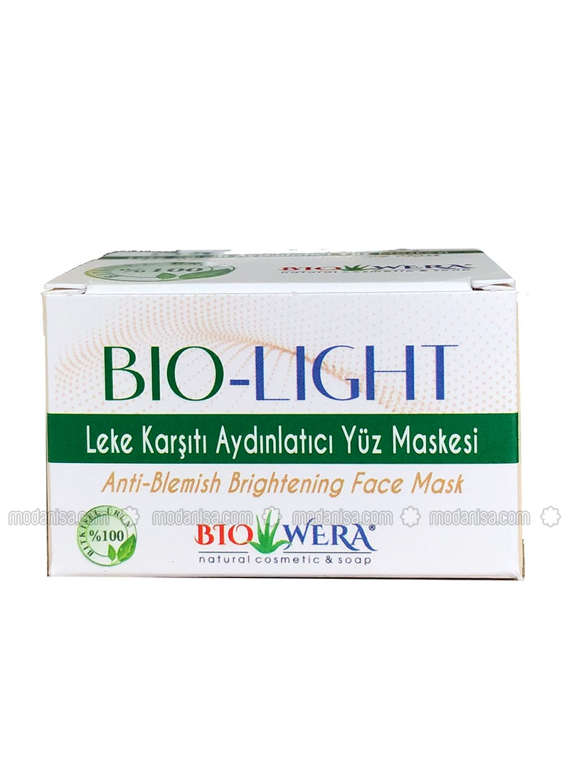 100% Herbal Mask - Bio-Light Mask - 100 ml - Illuminating and Cleansing Effect