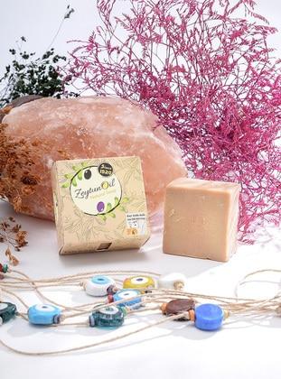 Goat Mılk Wıth Honey- Soap - ZeytunOil