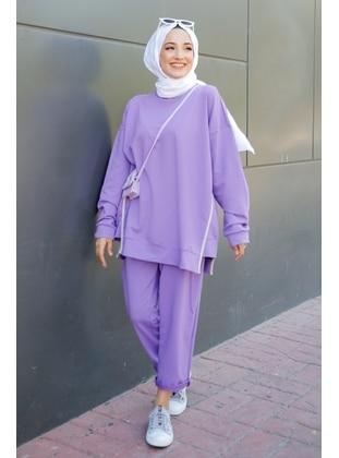 Lilac - Suit - GİZCE