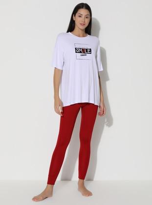 Red -  - Legging