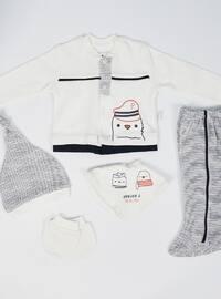 Multi -  - Ecru - Baby Suit