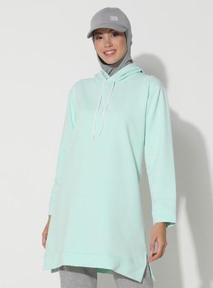 - Sea-green - Sweat-shirt