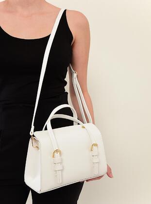 White - Clutch Bags / Handbags - MOON