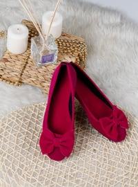 Flat - Fuchsia - Home Shoes