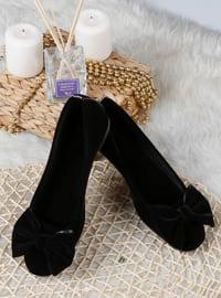 Flat - Black - Home Shoes