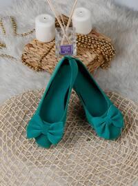 Flat - Sea-green - Home Shoes