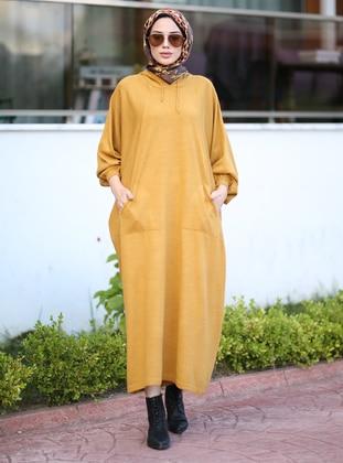 Mustard - Unlined - Knit Tunics