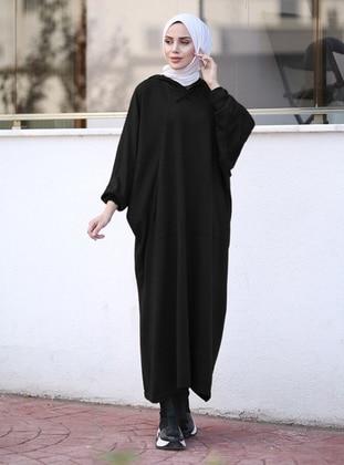 Black - Unlined - Knit Tunics - Neways
