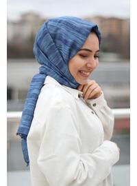Blue - Shawl