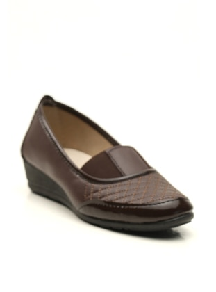 Brown - Flat - Casual - Flat Shoes