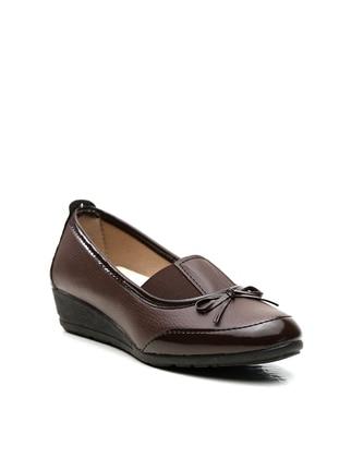 Brown - Flat - Casual - Flat Shoes - Ayakkabı Modası