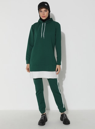 Green - Emerald -  - Tracksuit Set