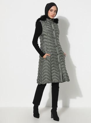 Khaki - Fully Lined - Vest