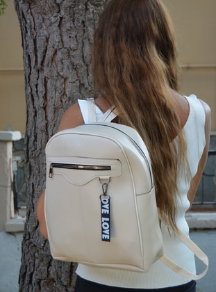 Cream - Backpack - Backpacks
