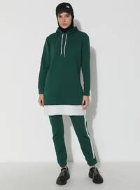 Green - Emerald - - Tracksuit Set