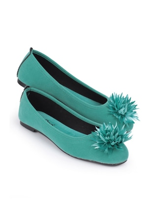 Flat - Sea-green - Home Shoes