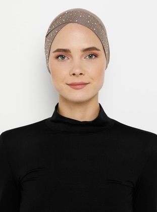 Mink - Plain - Simple - Bonnet
