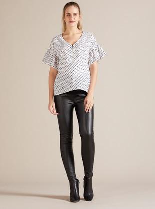 Viscose - Black - Maternity Leggings