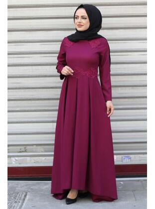 Multi - Modest Evening Dress