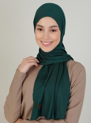 Emerald - Plain - Viscose - Shawl