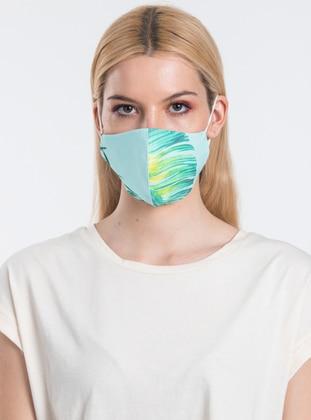 Multi -  - Turquoise - Green - Mask