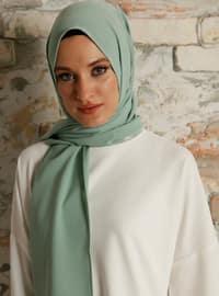 Sea-green - Plain - Shawl