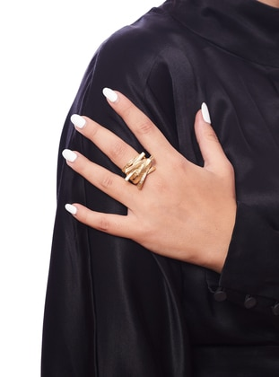 Gold - Ring - Zeydor Accessories