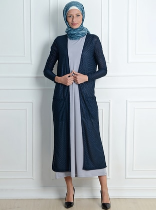 Navy Blue - Fully Lined -  - Topcoat