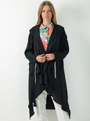 Black - Fully Lined -  - Puffer Jackets