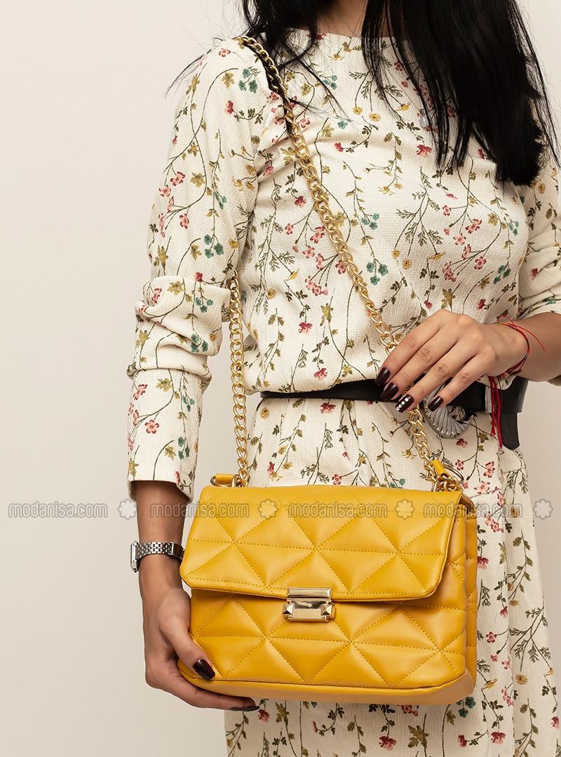 Yellow - Crossbody - Satchel - Shoulder Bags