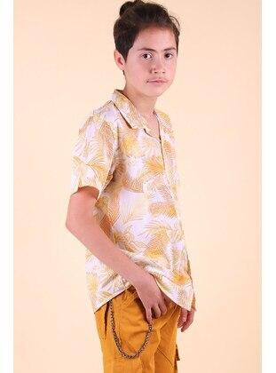 Yellow - Boys` Shirt - Breeze Girls&Boys