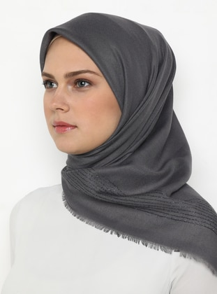 Smoke - Plain -  - Scarf