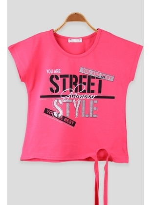 Coral - Girls` T-Shirt