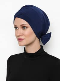 Indigo - Blue - Plain - Bonnet