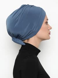 Blue - Plain - Bonnet