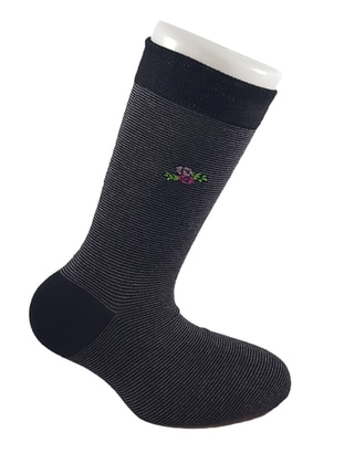 Black -  - Socks - AKBENİZ