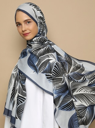 Multi - Printed - Cotton -  - Shawl