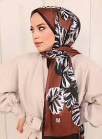 Multi - Printed - Twill - Shawl - Şal