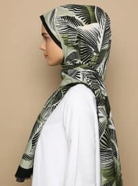 Multi - Printed - Cotton -  - Shawl
