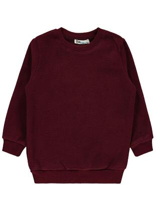 Maroon - Boys` Sweatshirt - Civil