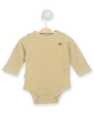 Mustard - baby bodysuits