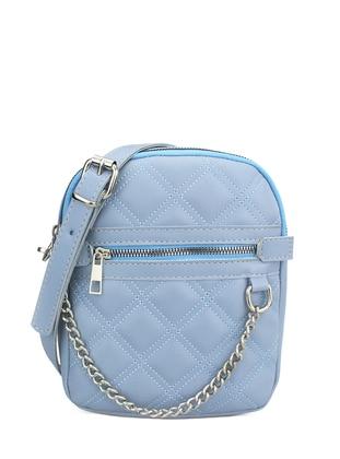 Baby Blue - Satchel - Shoulder Bags