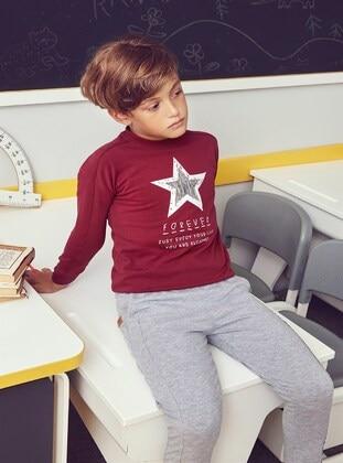 Maroon - Boy Sweatshirts