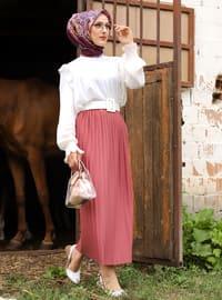 Dusty Rose - Unlined - Skirt